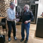 20 Jahre Eintracht: Ruedi Gantenbein = Ehrenmitglied